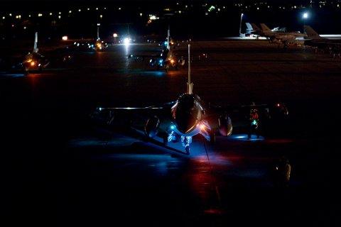 NORDAVIND: Luftforsvaret planlegger øvelse fra Banak flystasjon denne høsten.