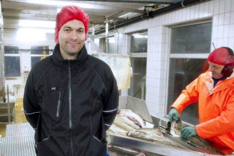 Daglig leder Frank Kristiansen i Båtsfjordbruket AS er ikke bekymret for eksporten etter Storbritannias EU-exit. Bildet er tatt i 2012.