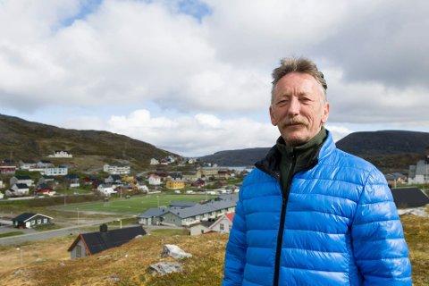 Gudleif Kristiansen (Sp), ordfører i Måsøy kommune.