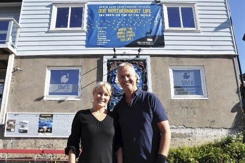 Tore Fosse og Birgit L. Johansen på Perleporten Kulturhus as er i gang med et nytt og spennende prosjekt.