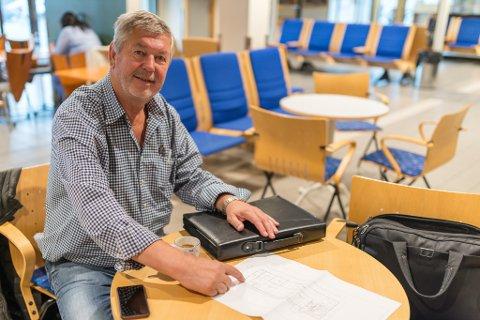 SATSER MILLIONER: Kjell Magnus Skatvedt er blant investorene bak den nye fraktterminalen i Lakselv. Terminalen kan gi store ringvirkninger for hele fylket.