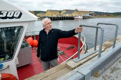 Leder Arne Pedersen i Norge Kystfiskarlag.