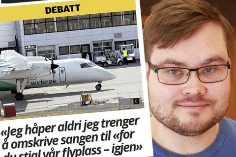 Tarjei Jensen Bech (Ap) svarer Vetle Langedahl. (arkivfoto/skjermdump iFinnmark)