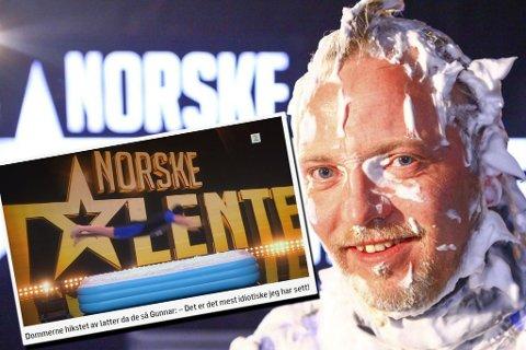 Gunnar Berg fra Vadsø er videre i Norske Talenter. (skjermdump TV2.no)