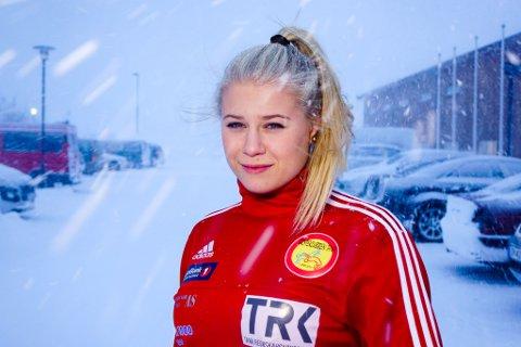 NORGE: Bryter Signe Marie Fidje Store har vært på kant med Norges Bryteforbund, men har mål om å bryte EM, VM og OL for Norge.