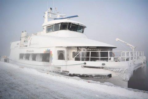 TATT UT: Falkefjell er tatt ut fra ruta VargsundXpressen fram til mars.
