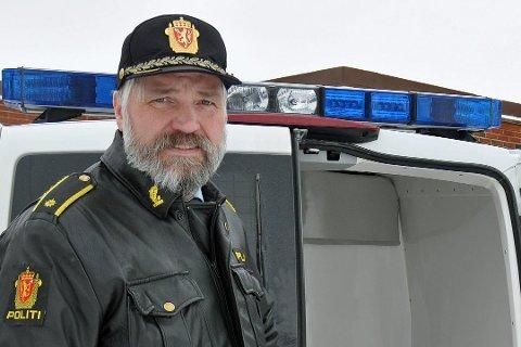 OPERASJONSLEDER: Leo Johansen er operasjonsleder i Finnmark politidistrikt.