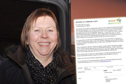Leder i Kåfjord bygdelag, Ellen Helander, jobber intensivt for å få på plass en Montessoriskole i Kåfjord. Dette blir et alternativ til den kommunale skolen etter at Kåfjord skole ble lagt ned. Fotomontasje.