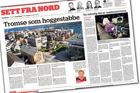 Irene Ojala reagerer på ett innlegg av politisk redaktør Skjalg Fjellheim i Nordlys.