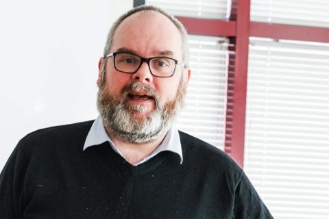 MELDER SEG UT: Leder i Hammerfest Venstre, Arve Paulsen, forlater partiet.
