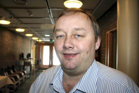 VIL SNU VEFAS: Lars Helge Jensen, styreleder i Rask AS.