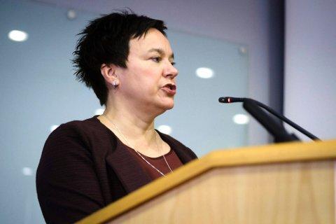 VIL STENGE MØTET: Fylkesordfører i Finnmark, Ragnhild Vassvik (Ap), innstiller på å stenge møtet i forhandlingsutvalget for sammenslåing av Finnmark og Troms.