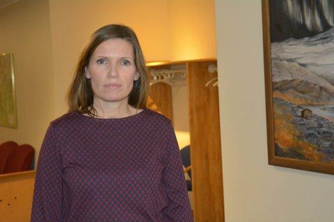 Ordfører i Lebesby, Stine Nielsen. Foto: Anita Bakk Henriksen