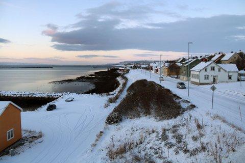 LYST: Slik så det ut i Vadsø etter snøfallet natt til lørdag. Foto: Julie Arntsen.