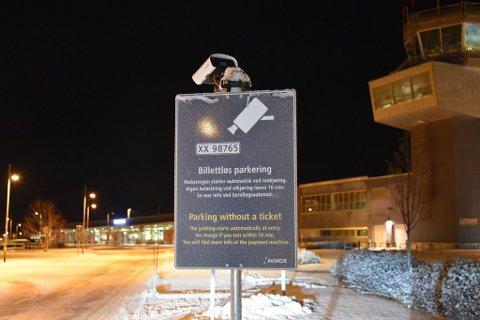 Alta Lufthavn har installert billettløs parkering.