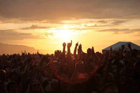 FESTIVAL: Minister vil hindre at festivaler som for eksempel Midnattsrocken. Illustrasjon.