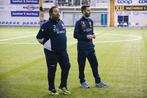 Vidar Johnsen og Rune Repvik