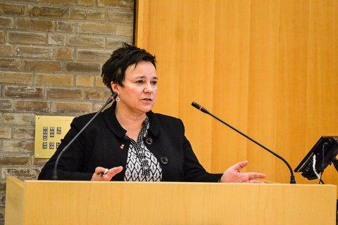 SIKRER FLERTALL: - Det blir ett spørsmål: Ja eller nei til sammenslåing med Troms, sier fylkesordfører Ragnhild Vassvik (Ap). Arkivfoto