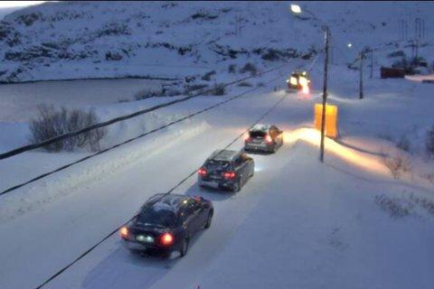 VÆRHARDT: Dette bildet er fra Kongsfjord på en dårlig værdag for noen år tilbake.