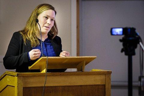 VARSLINGSSAK: Varaordfører i Vadsø, Hanne Harila, er ikke lenger SV-medlem. I utmeldingsbrevet ber hun også om at det hun kaller en stygg kampanje mot Tommy Berg, behandles som en varslingssak.