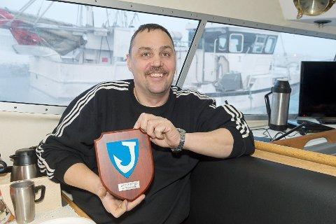 MANGEÅRIG BÅTSFJORDING: Finn Tore Frantzen er fra Lofoten, men kom til Båtsfjord for å bli i 1992. Nå er det også ti år siden han fant ut at det var fiske han skulle satse på.