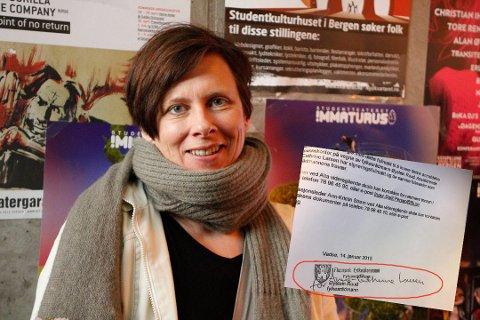 POLITIANMELDTE: Assisterende fylkesrådmann, Anne Cathrine Larsen, signerte anmeldelse mot Bjørnar Bruer.