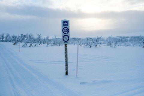 ALTERNATIV: Vadsø kommune mener skiklubben må bruke scooterløype 13 for å komme seg til Skihytta. Det er ikke like enkelt, mener skiklubben selv.