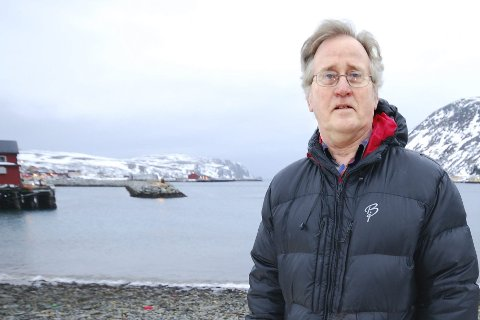 LUKKEDE ANLEGG: MDG-leder Olaf Terje Hansen i Lebesby presiserer at de ikke er imot oppdrett, men det vil ha det i lukkede anlegg.Foto: Alf Helge Jensen