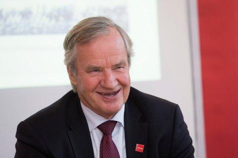 TRAPPER NED: Bjørn Kjos gir seg som toppsjef i Norwegian samtidig som selskapet han i stor gard har bygd opp legger fram svært gode tall for andre kvartal 2019. Arkivbilde.