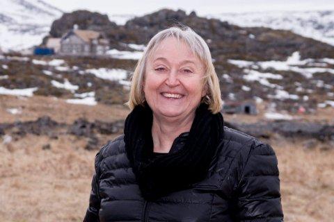 Ordfører Eva D. Husby i Hasvik.