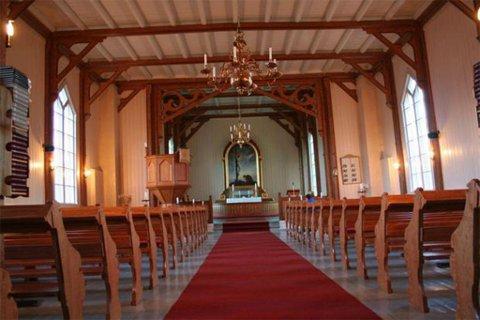 KIRKE: Talvik kirke i Alta kommune. Foto: Kirkesøk