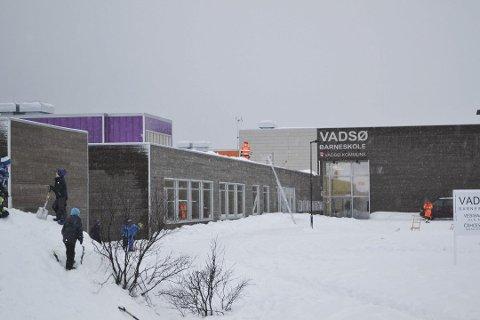 Illustrasjonsfoto av Vadsø barneskole. (Arkivfoto: Kenneth Strømsvåg)