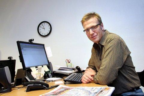 FORNØYD: Distriksdirektør i NRK Finnmark, Morten Ruud, sier han synes prosjektet ser lovende ut.