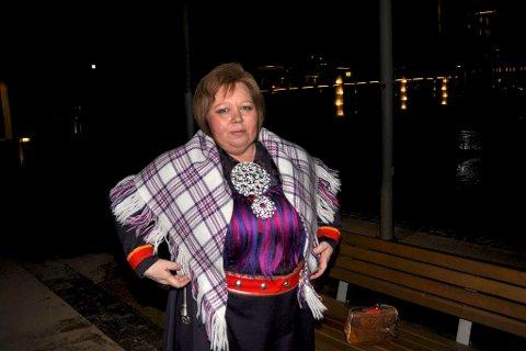 «FORBANNET»: – Det de skriver er at det ikke er politisk vilje til å ivareta samisk språk og kultur, sier Vibeke Larsen. Arkivfoto: Oddgeir Isaksen