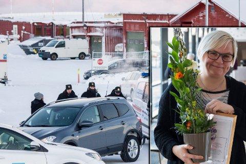 AKTIVISME: Aktivismen for asylsøkeres rettigheter gav Merete Nordhus et kort opphold i arresten under kaoset vinteren 2015/2016. Onsdag fikk hun en takk for innsatsen.