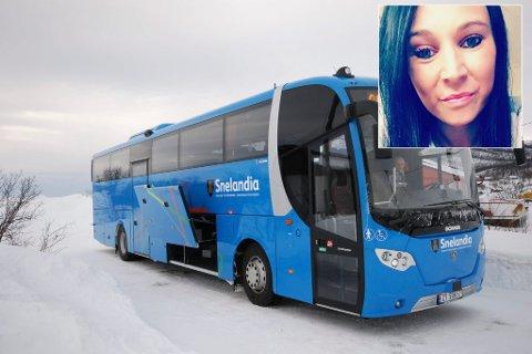 REAGERER: Mariann Oppervoll reagerer på at hverken Boreal eller Snelandia tar ansvar for busspassasjerer når buss ikke når fram til bestemmelsessteder. Foto: Privat