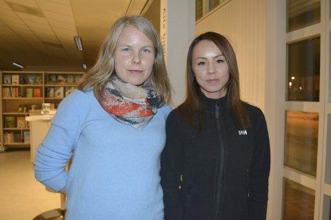 POLITIKERE SOM KJEMPER FOR LIKESTILLING: SVs Kirsti Bergstø og og NSRs ferske politiker Sandra Andersen Eira