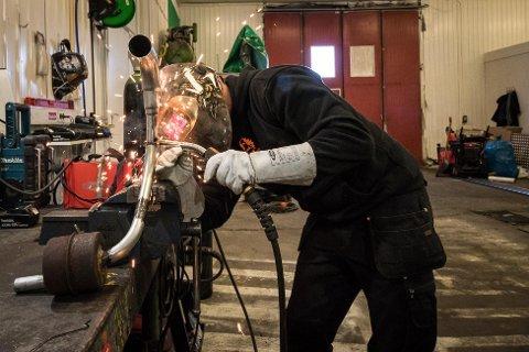 BETYDNINGSFULLT: Da gruva la ned for tre år siden, følte Anders Kalliainen på kroppen hvor stor betydning den gamle hjørnesteinsbedriften har for arbeidsmarkedet lokalt.