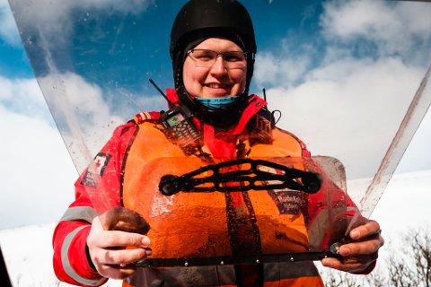 Christoffer Hansen (25) er operativ leder for hele Røde kors hjelpekorps i Finnmark denne påsken.