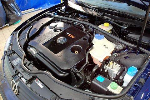 STRAFFET: Volkswagen er idømt 2,8 milliarder dollar i bot for utslippsjuks i USA.