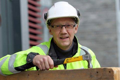 KREVER EN HALV MILLIARD: Hovedutvalgsleder Geir Ove Bakken krever at midler settes av til Hammerfest-Skaidi. Her avbildet i en annen sammenheng.