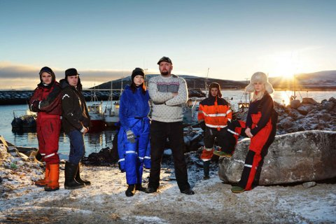 VISES PÅ TV: Discovery Channel har laget TV-program om gjengen på Veidnes. Artikkelforfatteren mener å kunne påpeke flere feil i serien.