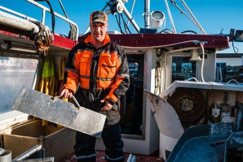 REAGERER: Vegard Bangsund fra Vardø mener det vil være umulig å overholde de nye arbeidstidsbestemmelsene Fiskeridirektoratet har utarbeidet for fiskerne.