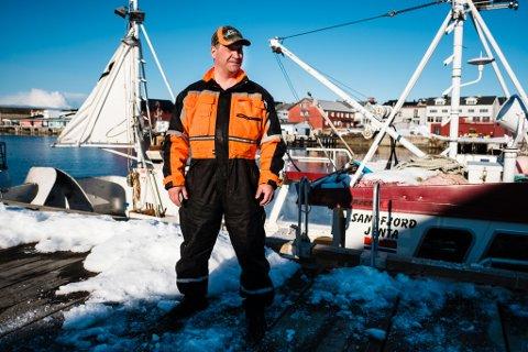 SKUFFET: Alt Vegard Bangsund ber om er at fisken i havet skal komme Vardø-samfunnet til gode.