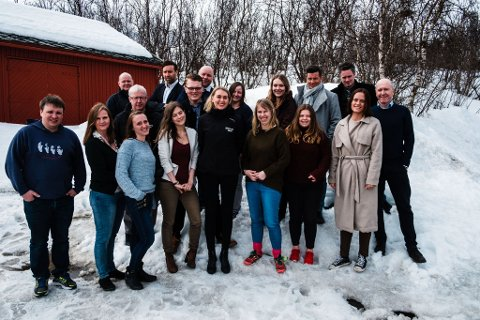 SKRYTER: Arne Reginissen gir æren for gode resultater til medarbeiderne i Amedias aviser i Finnmark.