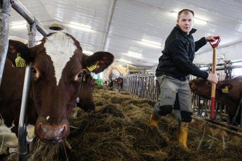 NOMINERT: Markus Heiberg kan bli Årets unge bonde.