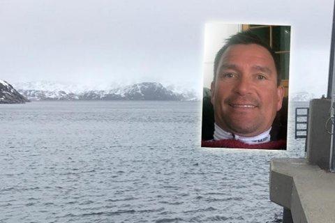 """""""INGEN UVÆR"""": Frank Arne Dagsvold stusser over at ferga ikke går i dette været. Montasje"""