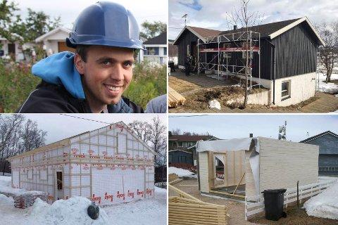 MYE Å GJØRE: Det ferske byggefirmaet har hatt oppdrag i Sør-Varanger og Tana. Hans Christer Hansen sier selskapet har planlagt det meste av 2017.