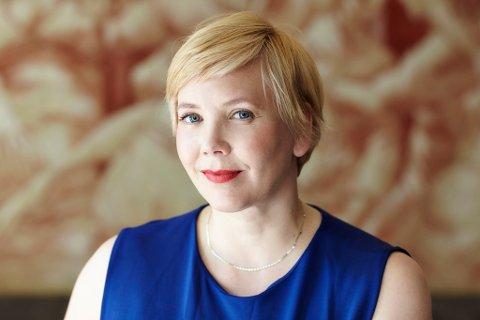 IKKE SMÅTTERIER: Kristine Knudsen som vokste opp i Hammerfest, er produsent på animasjonsfilmen som er solgt til 150 land.