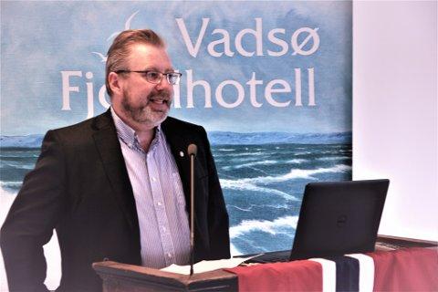 SØKER «NY» JOBB: Stian Lindgård fungerer som assisterende fylkesmann i Finnmark. Han ønsker den tilsvarende jobben i storregionen.
